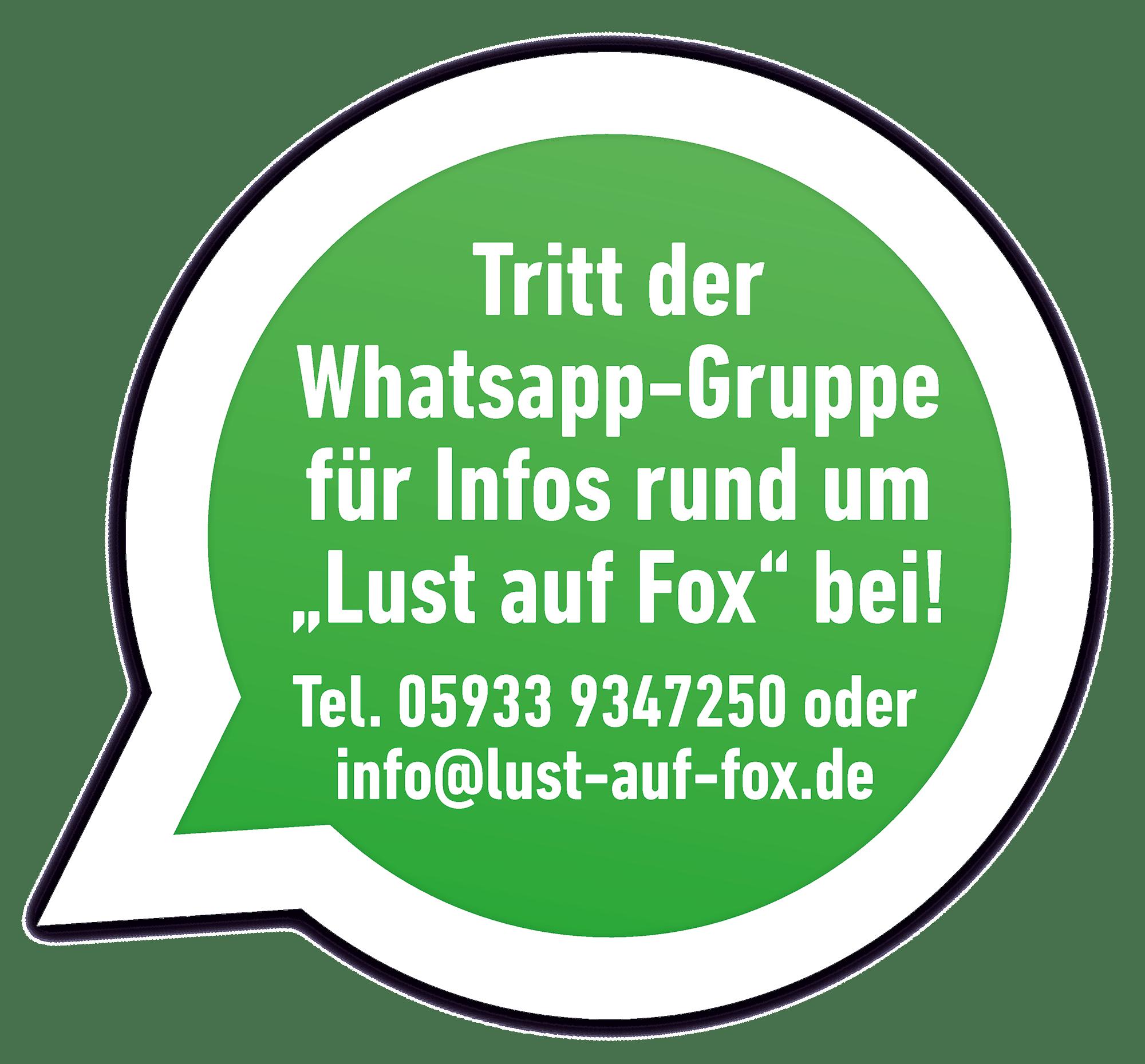 Lust auf Fox Whatsapp